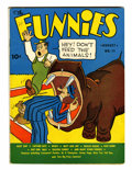 Platinum Age (1897-1937):Miscellaneous, The Funnies #11 (Dell, 1937) Condition: FN+....