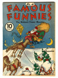 Platinum Age (1897-1937):Miscellaneous, Famous Funnies #41 (Eastern Color, 1937) Condition: FN....