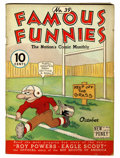 Platinum Age (1897-1937):Miscellaneous, Famous Funnies #39 (Eastern Color, 1937) Condition: VG+....