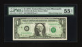 Fr. 1910-I $1 1977A Federal Reserve Note. PMG About Uncirculated 55 EPQ