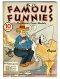 Platinum Age (1897-1937):Miscellaneous, Famous Funnies #37 (Eastern Color, 1937) Condition: FN....