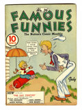 Platinum Age (1897-1937):Miscellaneous, Famous Funnies #36 (Eastern Color, 1937) Condition: FN....