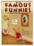 Platinum Age (1897-1937):Miscellaneous, Famous Funnies #33 (Eastern Color, 1937) Condition: VG/FN....