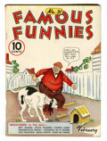 Platinum Age (1897-1937):Miscellaneous, Famous Funnies #31 (Eastern Color, 1937) Condition: VG/FN....