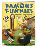 Platinum Age (1897-1937):Miscellaneous, Famous Funnies #30 (Eastern Color, 1937) Condition: VG/FN....