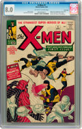 X-Men #1 Twin Cities pedigree (Marvel, 1963) CGC Very Fine 8.0 Off-white to white pages