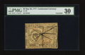 Colonial Notes:Continental Congress Issues, Continental Currency May 20, 1777 $8 PMG Very Fine 30.. ...