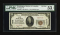National Bank Notes:District of Columbia, Washington, DC - $20 1929 Ty. 1 The Riggs NB Ch. # 5046. ...