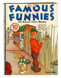 Platinum Age (1897-1937):Miscellaneous, Famous Funnies #26 (Eastern Color, 1936) Condition: VG/FN....