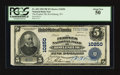 National Bank Notes:West Virginia, Rowlesburg, WV - $5 1902 Plain Back Fr. 602 The Peoples NB Ch. #10250. ...