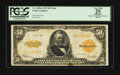 Large Size:Gold Certificates, Fr. 1200 $50 1922 Mule Gold Certificate PCGS Apparent Very Fine 25.. ...