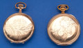 Timepieces:Pocket (post 1900), Two 16 Size Hunter's Cases Pocket Watches. ... (Total: 2 Items)