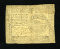 Colonial Notes:Continental Congress Issues, Continental Currency February 26, 1777 $4 Fine-Very Fine. Apleasing example from this somewhat tougher Baltimore issue that...