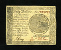 Colonial Notes:Continental Congress Issues, Continental Currency September 26, 1778 $60 Choice About New. Thefaintest evidence of circulation is seen on this boldly si...
