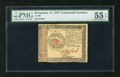 Colonial Notes:Continental Congress Issues, Continental Currency January 14, 1779 $4 PMG About Uncirculated55EPQ. This is an exceptional example of this much scarcer l...