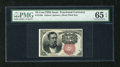 Fractional Currency:Fifth Issue, Fr. 1266 10c Fifth Issue PMG Gem Uncirculated 65EPQ. A broadlymargined and fresh example of this short key Meredith note th...