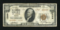 National Bank Notes:Missouri, Saint Louis, MO - $10 1929 Ty. 2 The Telegraphers NB Ch. # 12389.Type Ones outnumber Type Twos on this bank by almost t...