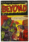 "Golden Age (1938-1955):Horror, The Beyond #17 Davis Crippen (""D"" Copy) pedigree (Ace, 1952)Condition: FN/VF...."