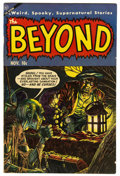 "Golden Age (1938-1955):Horror, The Beyond #23 Davis Crippen (""D"" Copy) pedigree (Ace, 1953)Condition: FN/VF...."