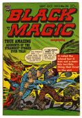 "Golden Age (1938-1955):Horror, Black Magic V4#2 (#26) Davis Crippen (""D"" Copy) pedigree (Prize,1953) Condition: FN+...."