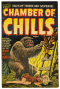 "Golden Age (1938-1955):Horror, Chamber of Chills #14 Davis Crippen (""D"" Copy) pedigree (Harvey,1952) Condition: FN...."