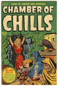 "Golden Age (1938-1955):Horror, Chamber of Chills #21 Davis Crippen (""D"" Copy) pedigree (Harvey,1954) Condition: FN+...."