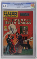 "Golden Age (1938-1955):Classics Illustrated, Classics Illustrated #52 The House of the Seven Gables Double Cover- Davis Crippen (""D"" Copy) pedigree (Gilberton, 1948) CGC ..."