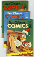 Golden Age (1938-1955):Miscellaneous, Dell Golden Age Group (Dell, 1939-45) .... (Total: 5)