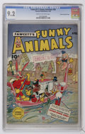 Golden Age (1938-1955):Funny Animal, Fawcett's Funny Animals #28 Crowley Copy/File Copy (Fawcett, 1945)CGC NM- 9.2 Cream to off-white pages....