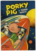 Golden Age (1938-1955):Cartoon Character, Four Color #322 Porky Pig in Roaring Rockets File Copy (Dell, 1951)Condition: VF-....