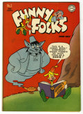 "Golden Age (1938-1955):Funny Animal, Funny Folks #2 Davis Crippen (""D"" Copy) pedigree (DC, 1946)Condition: VF+...."