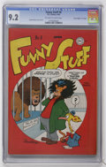 "Golden Age (1938-1955):Funny Animal, Funny Stuff #8 Davis Crippen (""D"" Copy) pedigree (DC, 1946) CGC NM-9.2 Off-white to white pages...."