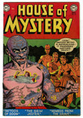 """Golden Age (1938-1955):Horror, House of Mystery #8 Davis Crippen (""""D"""" Copy) pedigree (DC, 1952)Condition: FN...."""