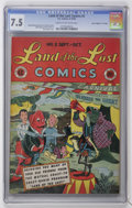 "Golden Age (1938-1955):Funny Animal, Land of the Lost Comics #2 Davis Crippen (""D"" Copy) pedigree (EC, 1946) CGC VF- 7.5 Cream to off-white pages...."