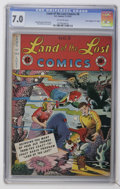 "Golden Age (1938-1955):Humor, Land of the Lost Comics #8 Davis Crippen (""D"" Copy) pedigree (EC, 1947) CGC FN/VF 7.0 Off-white pages...."