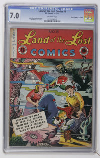 """Land of the Lost Comics #8 Davis Crippen (""""D"""" Copy) pedigree (EC, 1947) CGC FN/VF 7.0 Off-white pages"""