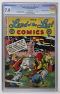 "Golden Age (1938-1955):Funny Animal, Land of the Lost Comics #9 Davis Crippen (""D"" Copy) pedigree (EC, 1948) CGC FN/VF 7.0 Off-white pages...."