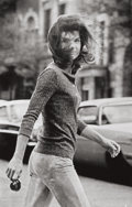 Photographs, RON GALELLA (American, b. 1931). Windblown Jackie, 1971. Gelatin silver, printed later. 19-3/4 x 12-1/2 inches (50.2 x 3...