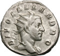 Ancients:Roman Imperial, Ancients: Restored Coinage of Trajan Decius for Divus SeverusAlexander. 249-251 AD. Antoninianus, 4.13g (11h). Rome, 251 AD.Obv: DIV...