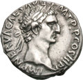 Ancients:Roman Imperial, Ancients: Nerva. 96-98 AD. Denarius, 3.54g (7h). Rome, 97 AD. Obv:IMP NERVA CAES AVG - P M TR P COS III P P Head laureate right. Rx:...