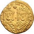Ancients:Byzantine, Ancients: Constantine VI and Irene. 780-797 AD. Solidus, 4.44g(5h). Constantinople, c. 790-792 AD. Obv: S IR[INI A]VΓ' ΜΙΤ - ΗΙFacin...