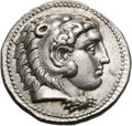 Ancients:Greek, Ancients: Macedonian Kingdom. Alexander III The Great. Struck under Seleucus I Nicator. 336-323 BC. Tetradrachm, 17.05g (6h). Ecbatana...