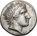Ancients:Greek, Ancients: Macedonian Kingdom. Archelaus I. 413-399 BC. Didrachm,10.77g (10h). Obv: Head of Apollo right. Rx: Bridled horse standingr...