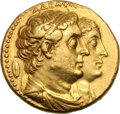 Ancients:Greek, Ancients: Ptolemaic Kingdom. Ptolemy II. 285-246 BC. AV Mnaieion (formerly octodrachm), 27.70g (1h). Alexandria, after 273 BC. Obv: ΑΔ...