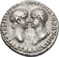 Ancients:Roman Imperial, Ancients: Nero and Agrippina. 54-68 AD. Denarius, 3.54g (10h).Lugdunum, 54-5 AD. Obv: AGRIPP AVG DIVI CLAVD NERONIS CAES MATERHead b...