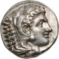 Ancients:Greek, Ancients: Macedonian Kingdom. Alexander III The Great. Tetradrachm, 17.32g (7h). Macedonia, c. 323-320 BC. Obv: Head of Heracles right...