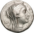 Ancients:Greek, Ancients: Ptolemaic Kingdom. Ptolemy II, in the name of Arsinöe II. 285-246 BC. Decadrachm, 34.05g (12h). Alexandria, c. 253/2-246 BC....