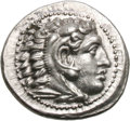 Ancients:Greek, Ancients: Macedonian Kingdom. Alexander III The Great. 336-323 BC. Drachm, 4.24g (12h). Miletos, c. 325-323 BC. Obv: Head of young Her...