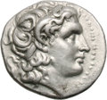 Ancients:Greek, Ancients: Kingdom of Thrace. Lysimachus. Drachm, 4.28g (11h).Ephesus. Obv: Diademed head of the deified Alexander the Greatright, wi...