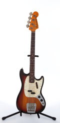 Musical Instruments:Bass Guitars, 1972 Fender Mustang Sunburst Electric Bass Guitar #364716,...